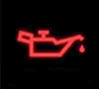 Đèn báo áp suất dầu ở mức thấp