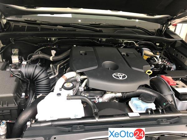 Đánh giá động cơ Toyota Fortuner 2020