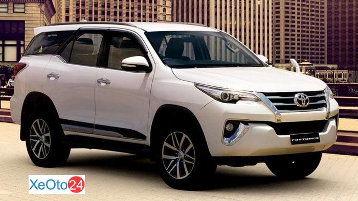 Đánh giá ngoại thất Toyota Fortuner 2020