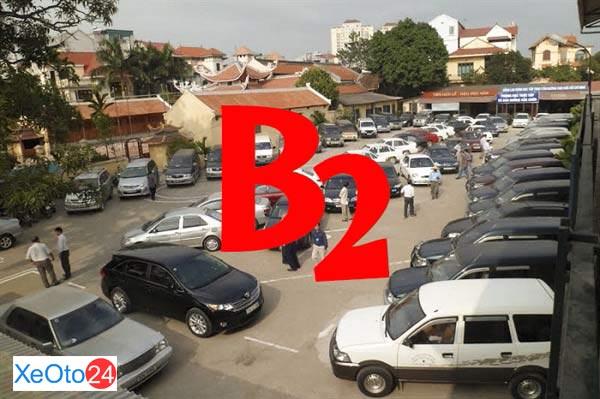 Bằng lái xe hạng B2 lái được xe nào
