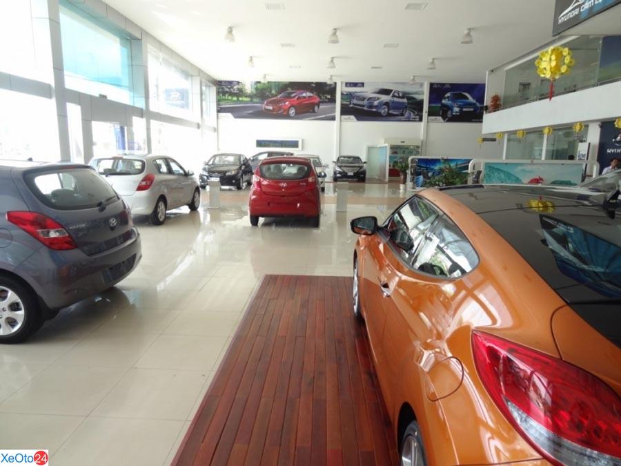 Cơ sở vật chất của Hyundai Cẩm Lệ