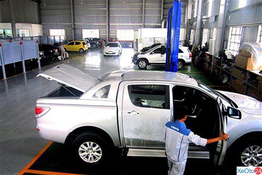 Cơ sở vật chất của Mazda Bình Định