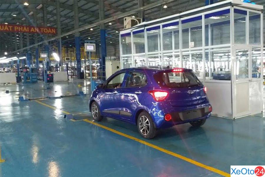 Cơ sở vật chất tại Hyundai Hà Tĩnh