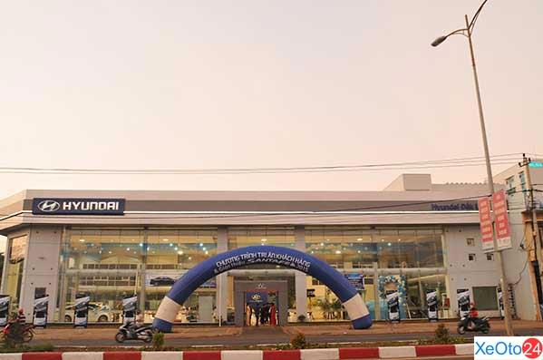 Cơ sở vật chất xây dựng theo đúng chuẩn 3S của Hyundai toàn cầu