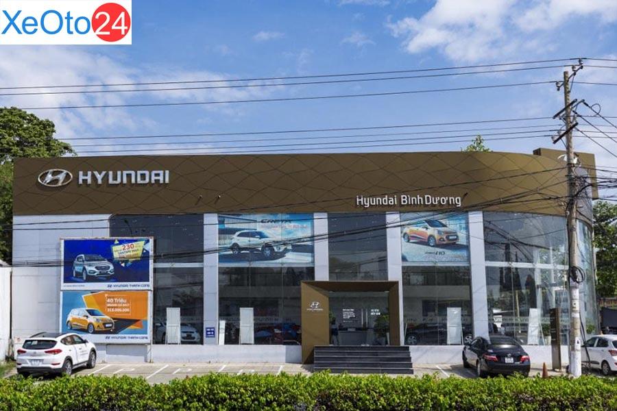Đại lý Hyundai Bình Dương