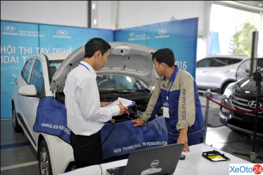 Dịch vụ sửa chữa, bảo hành chất lượng cao tại Hyundai Ngọc Phát