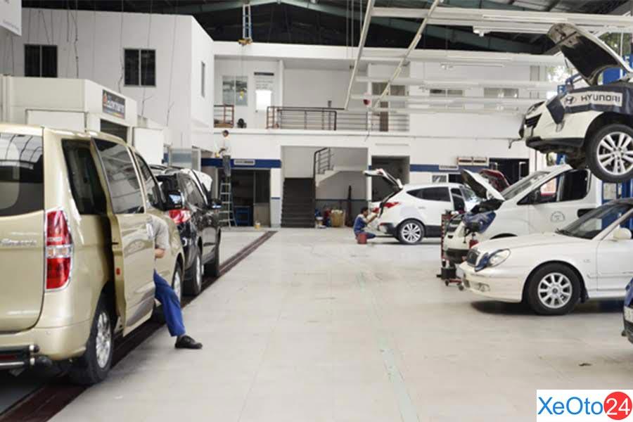 Dịch vụ tư vấn, mua bán và sửa chữa ô tô tại Hyundai Hà Tĩnh