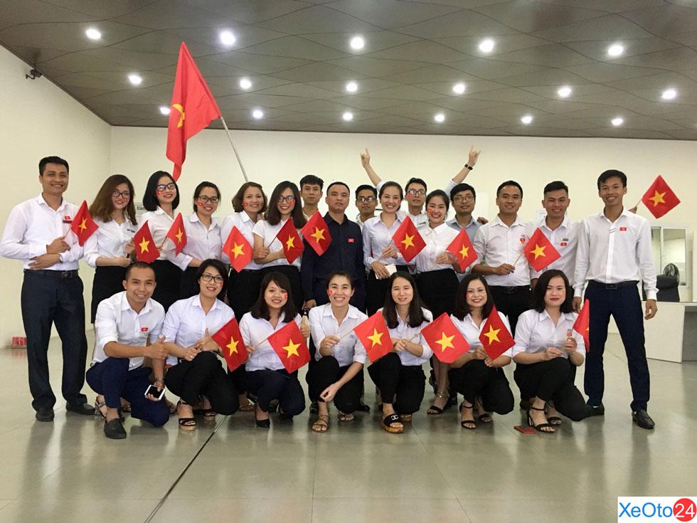 Đội ngũ nhân viên của Hyundai Đông Anh