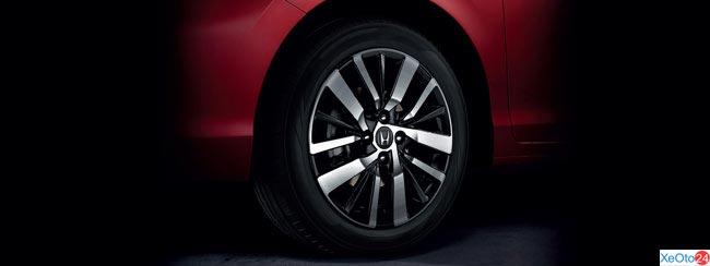 Honda City 2020 có 2 tùy chọn mâm xe