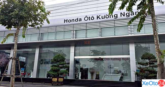Honda ô tô Kương Ngân - Thái Bình