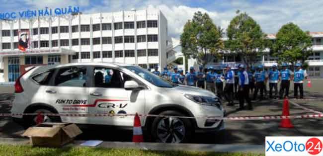Honda ô tô Nha Trang tổ chức hướng dẫn lái xe an toàn