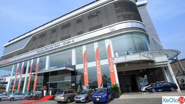 Honda ô tô Sài Gòn - Quận 2