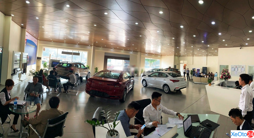 Hyundai Đông Anh sở hữu cơ sở vật chất 5 sao, showroom đẹp
