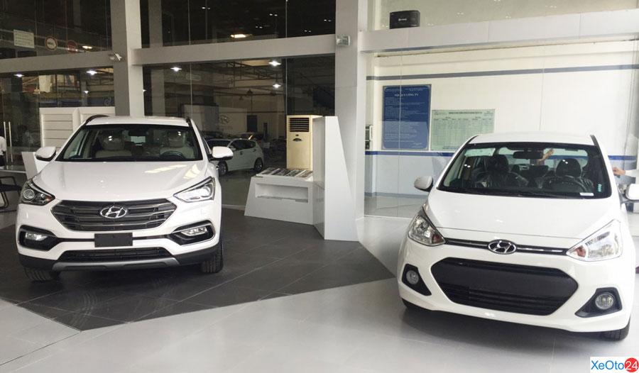 Hyundai Đông Đô có đa dạng các dòng xe hot nhất của hãng