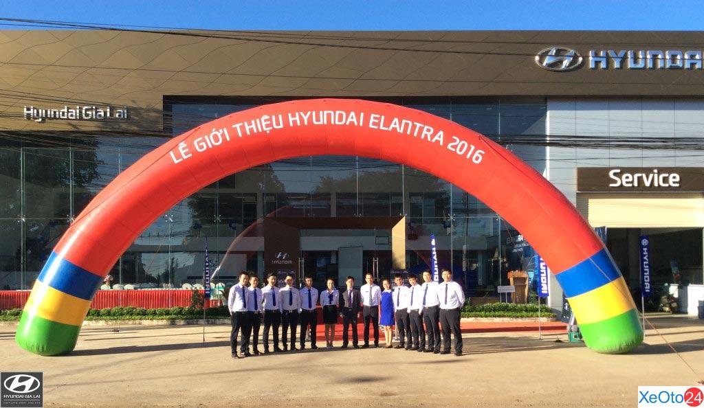 Hyundai Gia Lai phục vụ khách hàng