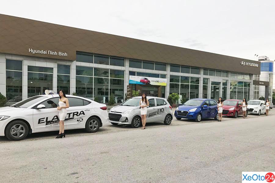 Hyundai Ninh Bình nhìn từ ngoài vào