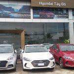 Hyundai Tây Đô nhìn từ bên ngoài