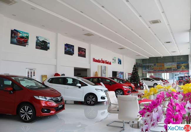 Khu trưng bày những mẫu xe mới nhất tại Việt Nam