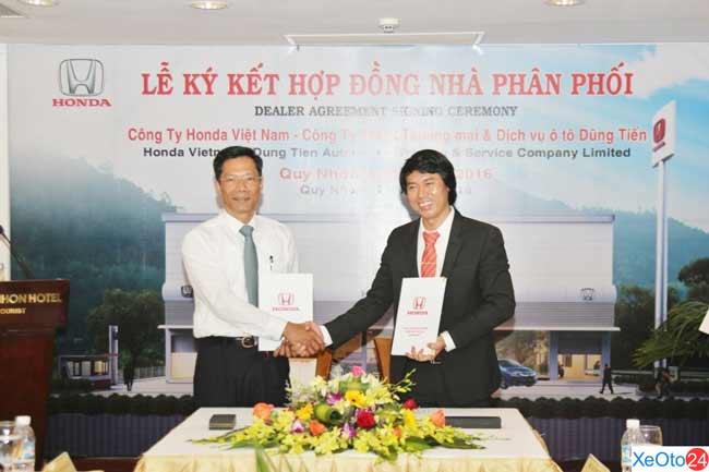 Lế ký kết được diễn ra thành công tốt đẹp tại khách sạn Sài Gòn - Quy Nhơn