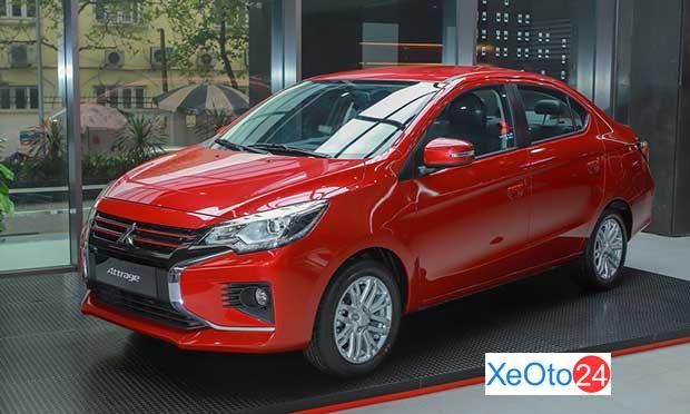 Mitsubishi Attrage (giá từ 375 triệu VND)