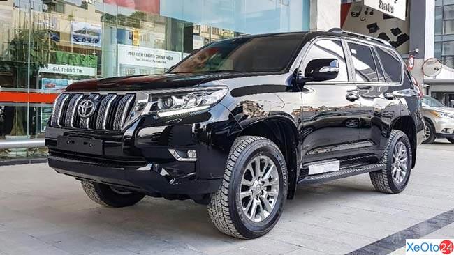 Ngoại thất Toyota Land Cruiser Prado 2020