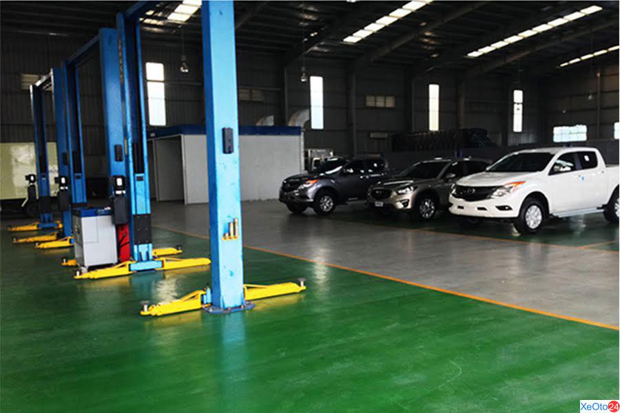 Phòng bảo dưỡng xe Mazda An Giang