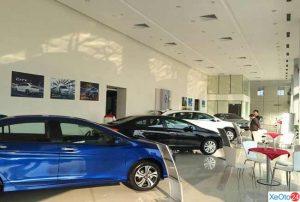 Phòng trưng bày của shoroom Honda Ô tô Thanh Hoá