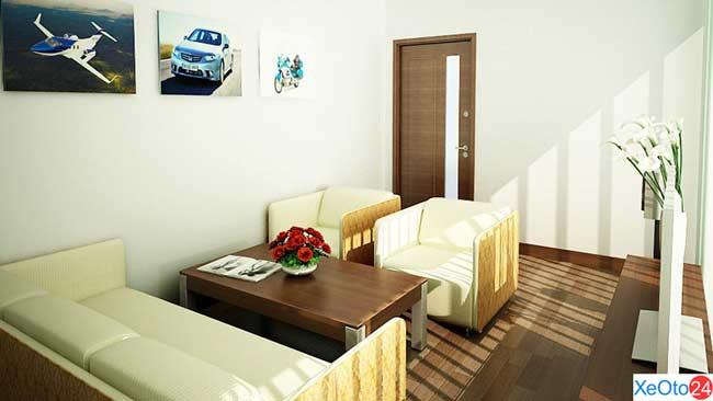 Phòng chờ VIP cho khách mua xe mới