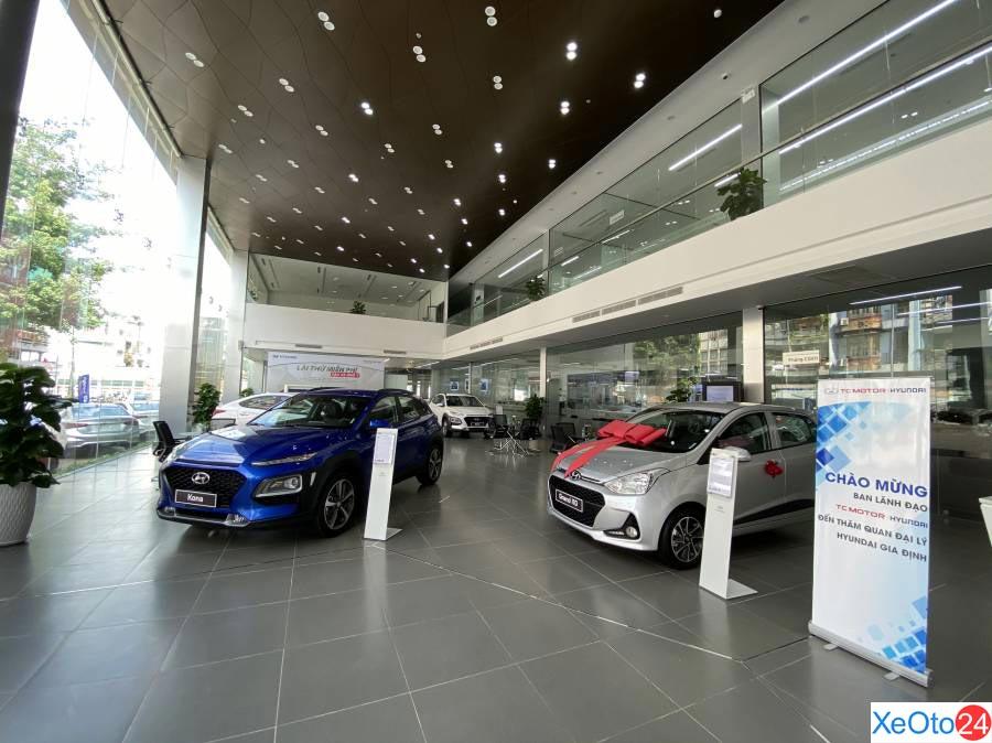 Showroom 1S Hyundai Gia Định được thiết kế theo ý tưởng mới