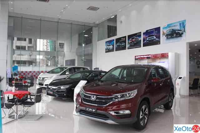 Showroon Honda ô tô Bắc Ninh