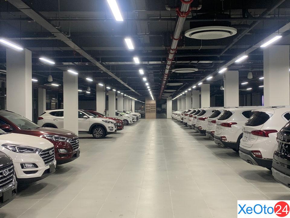 Showroom Hyundai Đông Đô được đầu tư khủng