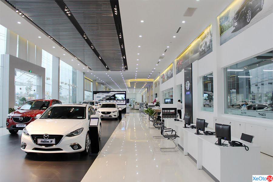 Showroom Mazda Cần Thơ
