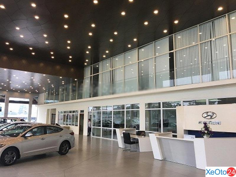 Showroom của Hyundai Ninh Bình rộng tới 1000m2