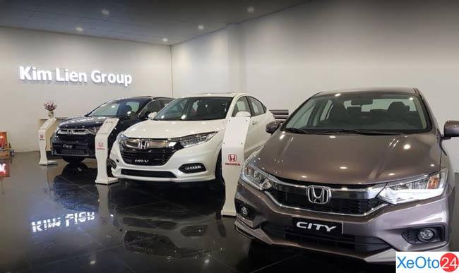 Showroom trương bày của Honda ô tô Kim liên Quảng Trị
