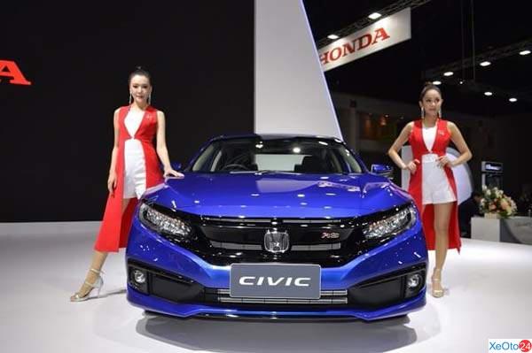 Thiết kế phần đầu xe Honda Civic 2020
