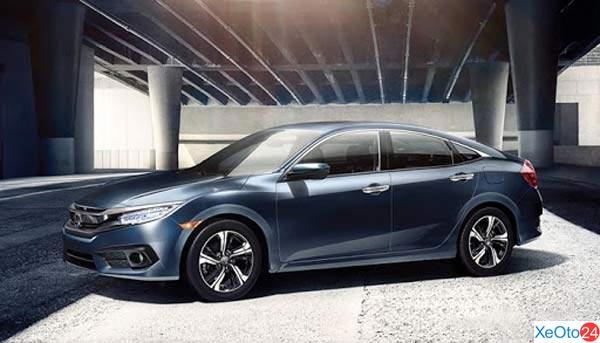 Thiết kế phần thân xe Honda Civic 2020