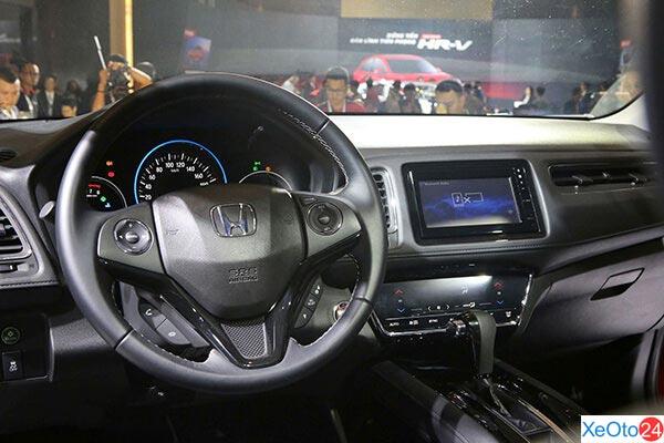 Tiện nghi công nghệ Honda HR-V 2020