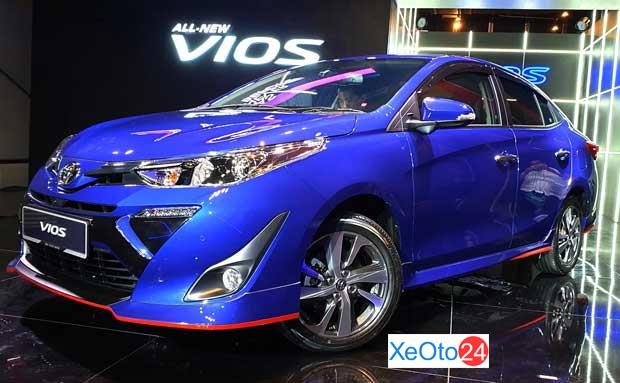 Toyota Vios (giá từ 470 triệu VND)