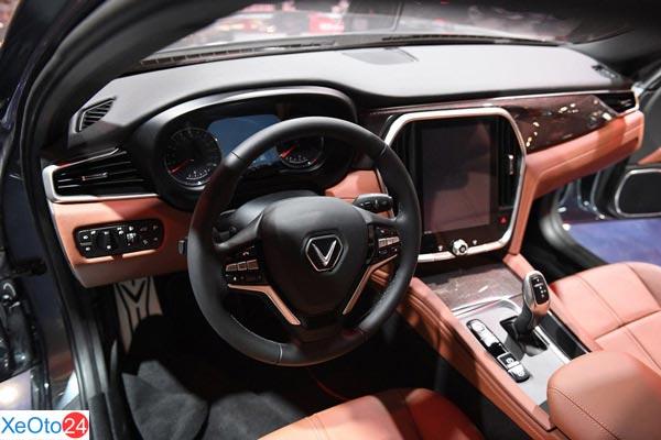 Về thiết kế Khoang lái xe Lux SA2.0