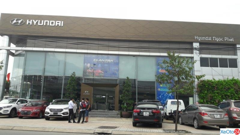 Vị trí của chi nhánh Hyundai Ngọc Phát