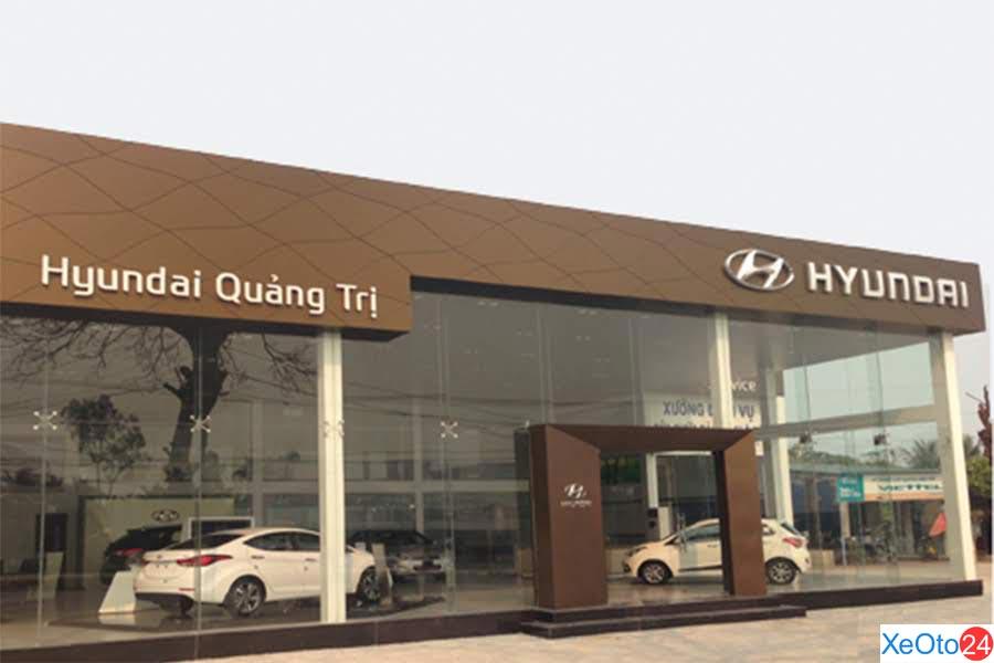 Vị trí của showroom Hyundai tại tỉnh Quảng Trị