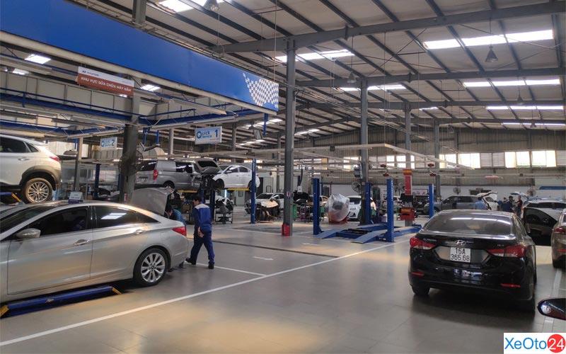 Xưởng bảo dưỡng, sửa chữa của Hyundai Hải Phòng