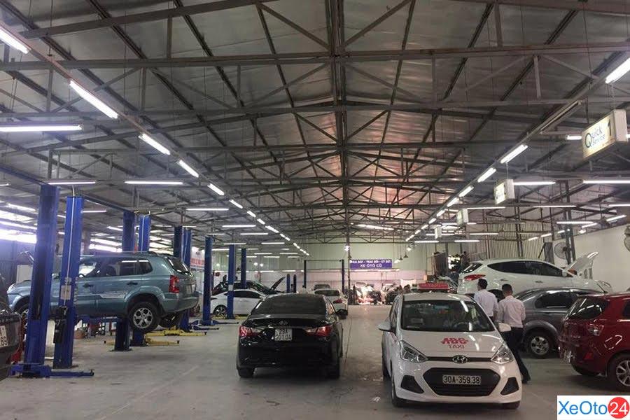 Xưởng bảo hành của Hyundai Lê Văn Lương đầu tư cơ sở vật chất theo tiêu chuẩn của hãng
