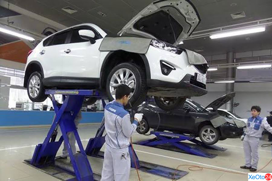 Xưởng dịch vụ sửa chữa của Mazda Đà Nẵng
