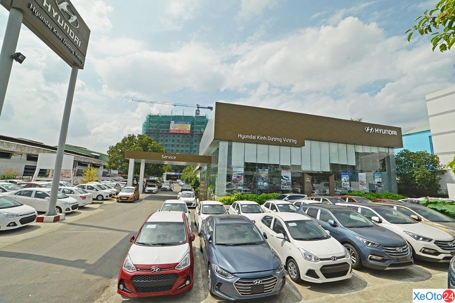 đầy đủ các dòng xe Hyundai