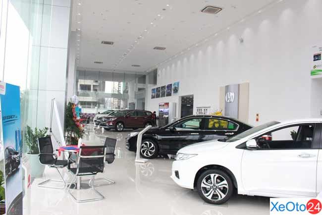 Khu vực trưng bày của Showroom