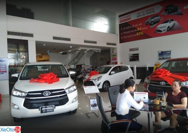 Toyota Bình Thuận, cung cấp các dòng xe chính hãng