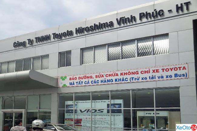 Đại lý xe ô tô 36Toyota Hiroshima Vĩnh Phúc - HT