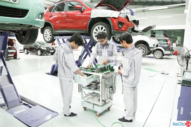 Các dịch vụ tại Mazda Ninh Bình