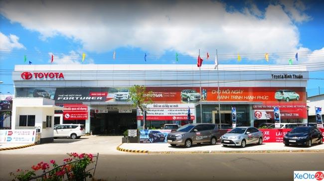 Hình ảnh đại lý Toyota Bình Thuận